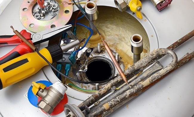Depannage reparation d eau chaude boiler electrique