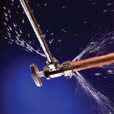 Fuite eau tuyau 400x400