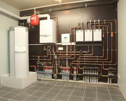 Installation chauffage et chaudiere