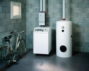 Installation nouvel chaudiere chauffagiste agee