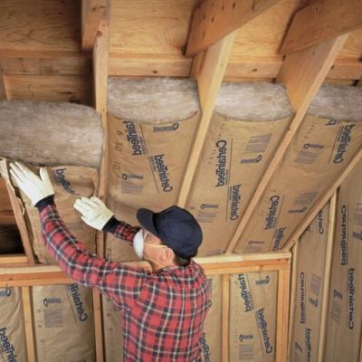Isolation par interieur sous toiture