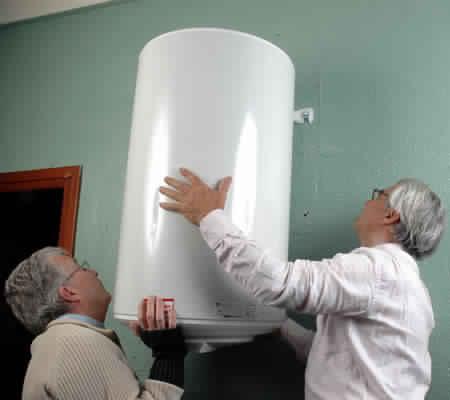 Remplacement du vieux boiler